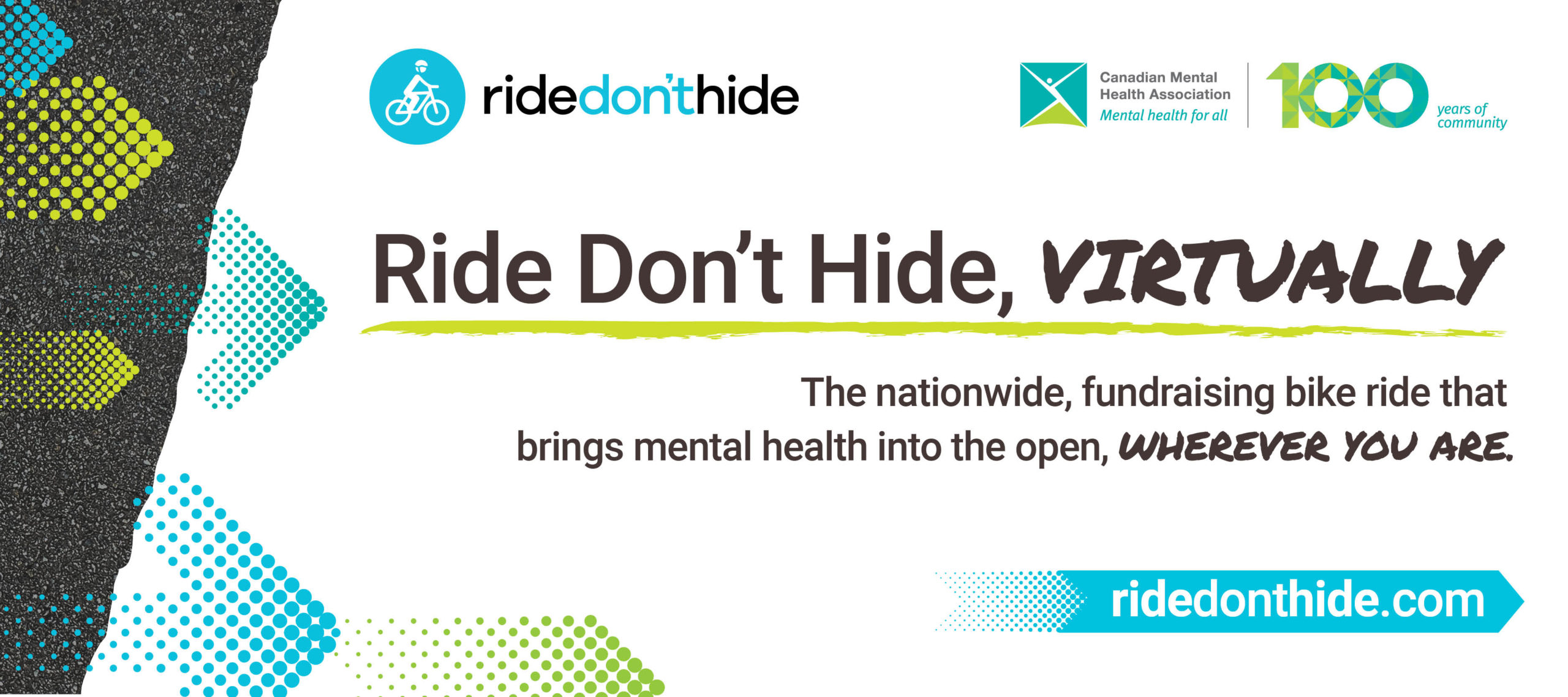 Show Your Support for Mental Health – Join our Free Virtual Ride Today!